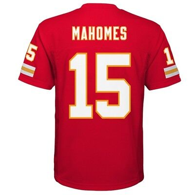 NFL Jersey PATRICK PAT MAHOMES Chiefs 2018/19 Boys/Youth Large/L 14-16 (NWT)