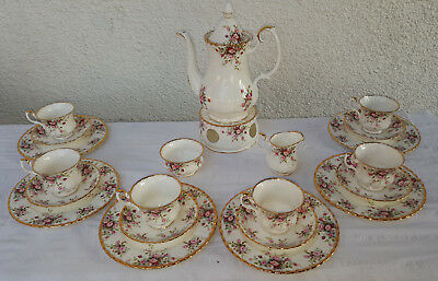 Royal Albert Cottage Garden Kaffeeservice 6 Personen