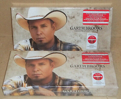 2 New Sealed Garth Brooks The Ultimate Collection 10 Cd Set