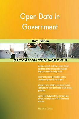 Open Data in Government Third Edition by Gerardus Blokdyk (English) Paperback Bo