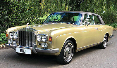 1973 ROLLS ROYCE CORNICHE COUPE          History from new !