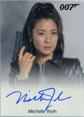 James Bond Archives 2017 Final Autograph Card Michelle Yeoh as Wai Lin