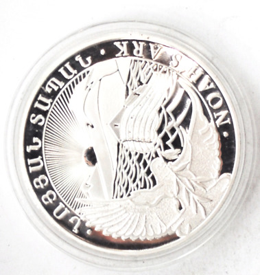2014 LEV Armenia 1000 Dram Silver Proof 5oz .999 Coin Only 4,535 Minted KM# 227