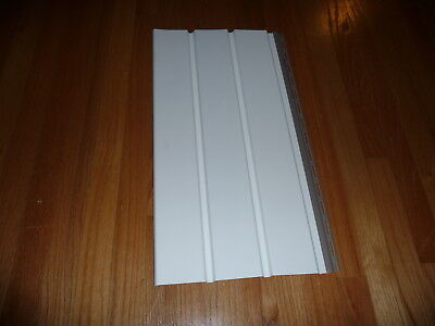 """Universal 12"""" Vinyl Soffit White Full Solid Porch Ceiling YOU CHOOSE SIZE"""