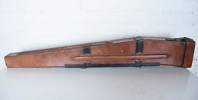 Wwii Browning Bar Automatic M1918 A1 A2 Leather Rifle Scabbard Case