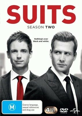 Suits: Season 2 = NEW DVD R4