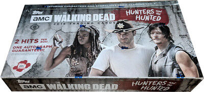 Topps 2018 Walking Dead Hunters & The Hunted Factory Sealed Hobby Card Box