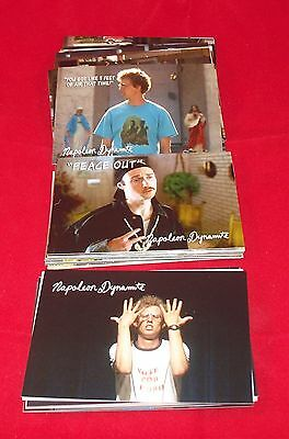 NAPOLEON DYNAMITE - Complete Trading Card Set -  Flippin Sweet