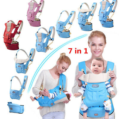 0-36 months front facing infant backpack hipseat newborn baby carrier kangaroo $