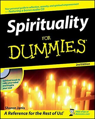 Spirituality For Dummies by Janis, Sharon Paperback Book The Cheap Fast Free
