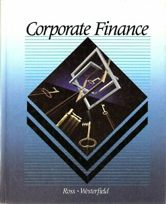 Corporate Finance by Jaffe, Jeffrey Hardback Book The Cheap Fast Free Post