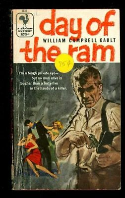 Paperback. William Campbell Gault: Day of the Ram: Bantam 1638 903521
