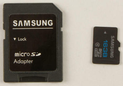 WPS 16GB Micro SD Card with Adapter