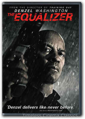 The Equalizer DVD New Denzel Washington Marton Csokas Chloe Grace