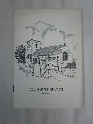 1959 Guide To All Saints Church Dibden Hampshire