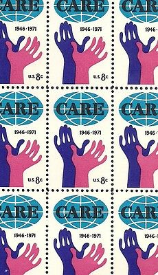 1971 - CARE - #1439 Full Mint -MNH- Sheet of 50 Postage Stamps