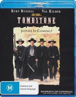 Tombstone = NEW Blu-Ray Region B