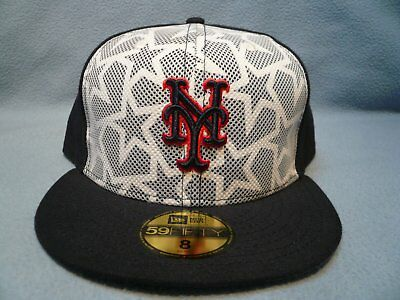 brand new 4b0e9 e32b2 New Era 59fifty New York Mets Stars   Stripes July 4th BRAND NEW Fitted cap  hat