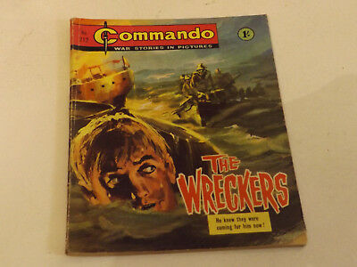 Commando War Comic Number 212 !!,1966 Issue,good For Age,52 Years Old,v Rare.