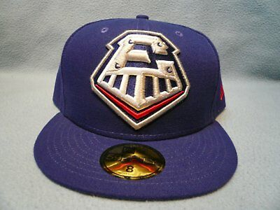 official photos e75d7 529c8 New Era 59fifty Round Rock Express Grand Logo Sz 8 BRAND NEW Fitted cap hat  MiLB