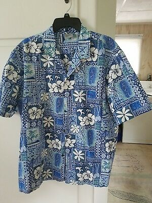 64ed8c00a Original Hawaiian Shirt Royal Creations Hawaii Usa Mens Xl Tiki Island  Design