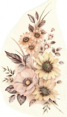 Daisy Cosmos Flower Select-A-Size Ceramic Waterslide Decals Xx