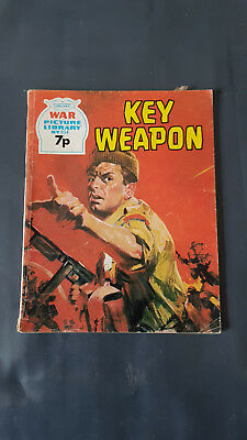 War Picture Library no.954 Key Weapon c.1960's Fleetway Library