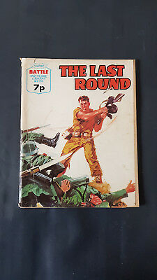 Battle Picture Library no.790 The Last Round c.1960's Fleetway Library