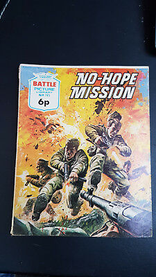 Battle Picture Library no.745 No-Hope Mission c.1960's Fleetway Library