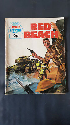 War Picture Library no.783 Red Beach c1960's Fleetway Library