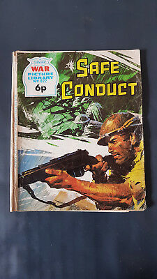War Picture Library no.822 Safe Conduct c.1960's Fleetway Library