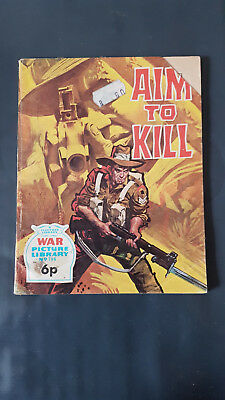 War Picture Library no.796 Aim to Kill c1960's Fleetway Library
