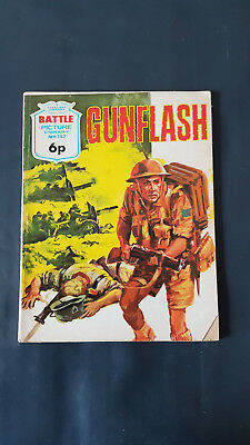 Battle Picture Library no.742 Gunflash c.1960's Fleetway Library