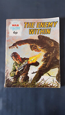 War Picture Library no.745 The Enemy Within c1960's Fleetway Library