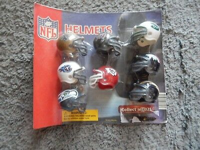 Nfl 8 Team Helmets (Brand New)