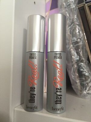 af3f3dc7832 2x Benefit Cosmetics They're Real Tinted Lash Primer Mink Brown Mini Size3g