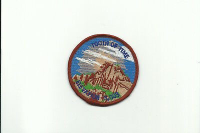 Scout Bsa Philmont Ranch Base Tooth Of Time Elevation 9.003 Patch Badge Nm !!!!!