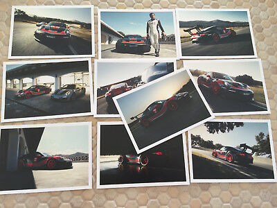 Porsche Official 911 Gts Rs Clubsport Post Card Set Of 10 Cards New