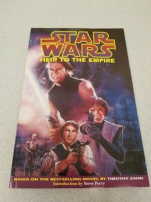 Star Wars Thrawn Trilogy HEIR TO THE EMPIRE Comic Collection Book Excellent