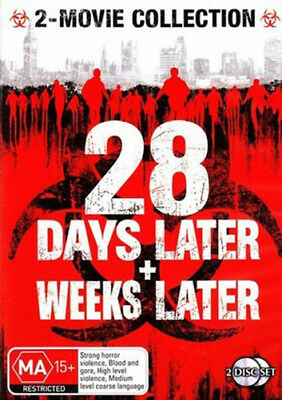 28 Days Later / 28 Weeks Later - Brand New DVD Region 4