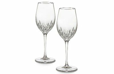 Waterford Crystal Lismore Essence White Wine Glass, Set of 2