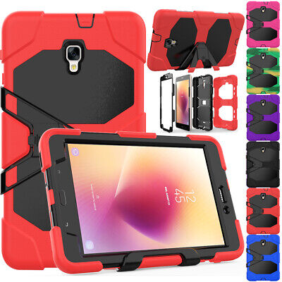 Shockproof Rubber Case Cover With HD Film For Samsung Galaxy Tab S2 8.0 S3 9.7