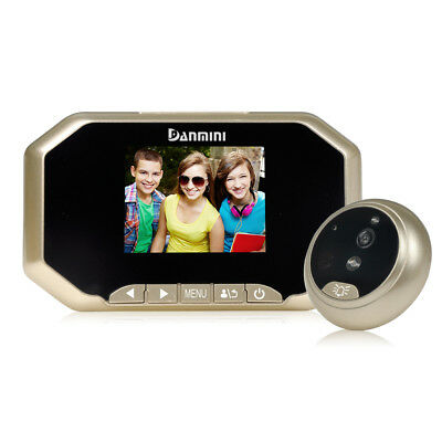 "3"" Digital 160°Peephole Viewer Door Eye Doorbell Monitor IR-CUT Security Camera"