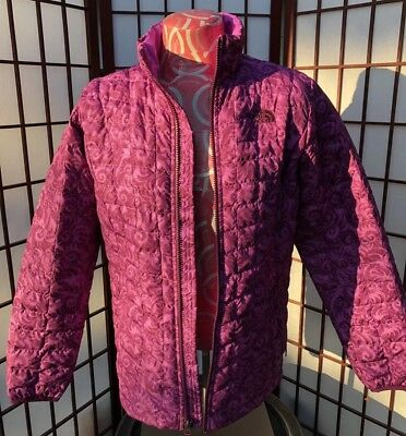 b110d6773d62 THE NORTH FACE Girls  Full Zip Thermoball Jacket XL -  55.82