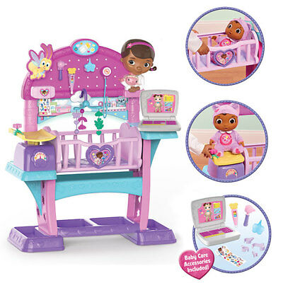 Doc McStuffins Disney Toy All in One Nursery Set Junior Kids Baby Learning Tool