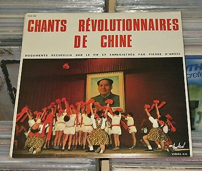 Chants Revolutionnaires De Chine China - LP (VG+) Enregistres En Chine Populaire