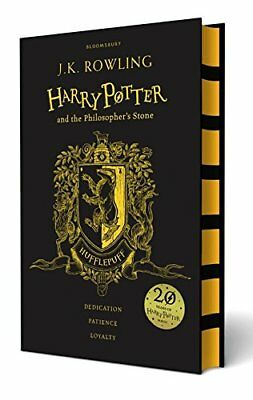 Harry Potter and the Philosopher's Stone - Hufflepuff Edition by Rowling HB..