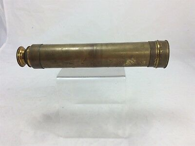 Antique Brass Naval Telescope Navy 3 Drawer