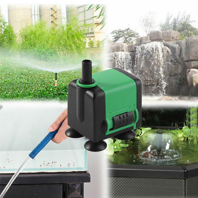 Non-toxic Submersible Pump Aquarium Pond Powerhead Fountain Water 220V-240V