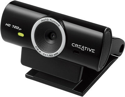 CREATIVE Live Cam Sync HD Webcam Webkamera Chat Computer PC Notebook